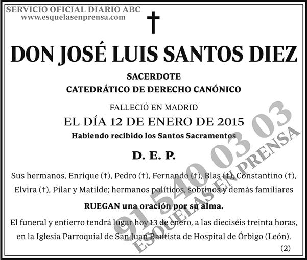 José Luis Santos Diez